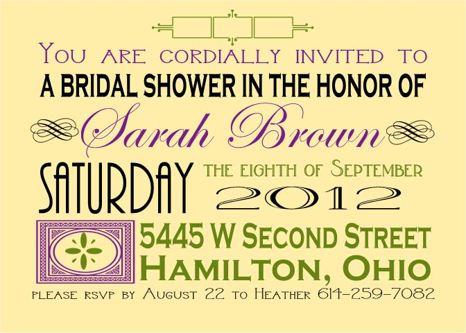 Avant-Garde Bridal Shower 12